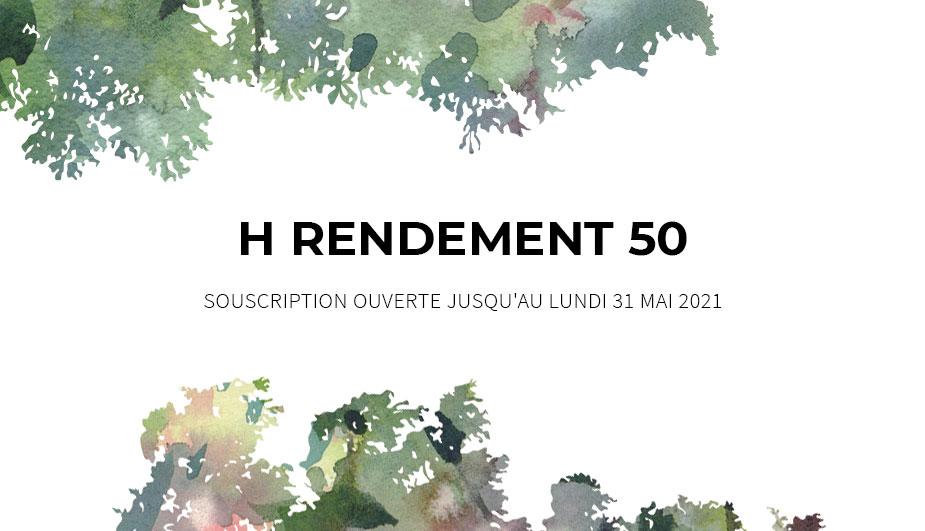 Ce mois-ci à l'affiche : <br>H RENDEMENT 50