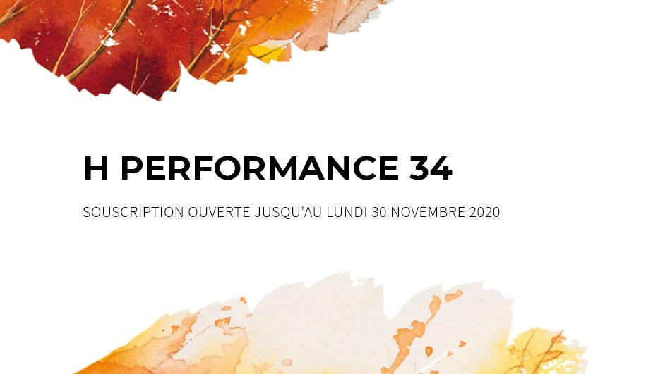 Ce mois-ci à l'affiche : <br>H PERFORMANCE 34